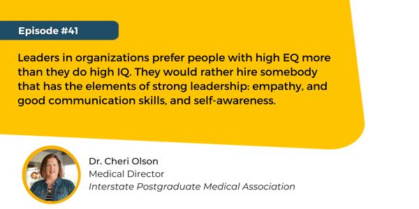 Quote Dr. Cheri Olson